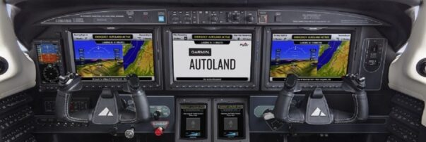 FAA Certifies Garmin Autoland for Piper M600/SLS Aircraft