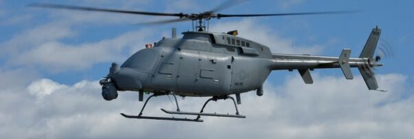 U.S. Navy Flight Testing Leonardo Radar for Northrop Grumman MQ-8C Fire Scout