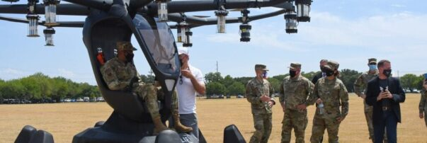 U.S. Air Force Leaders Witness Manned eVTOL Demonstration by LIFT Aircraft's HEXA