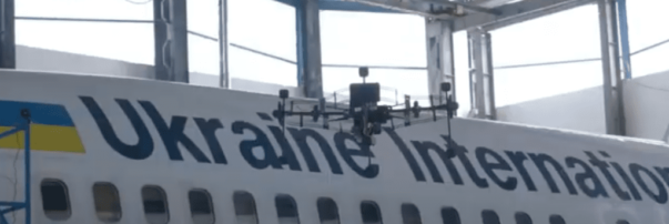 Ukraine International Airlines Using Drones for Aircraft Structure Inspections
