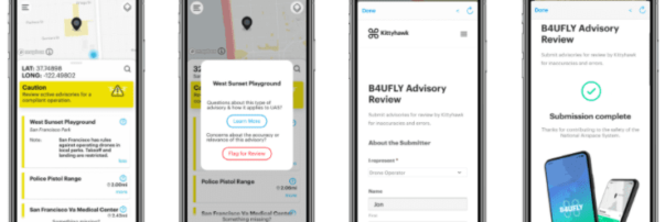 B4UFLY Adds Drone Data Crowdsourcing and Local Advisories in New Update