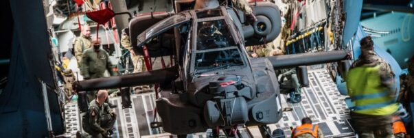 British Army Modernizes with First Apache AH-64E Helicopter Deliveries
