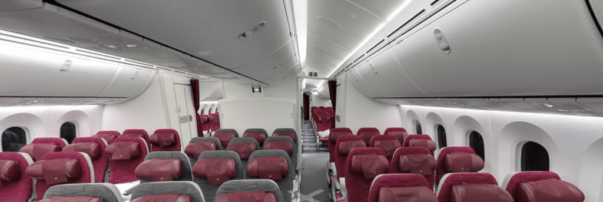 Qatar Airways to Upgrade Boeing 787-8 In-flight Entertainment Systems