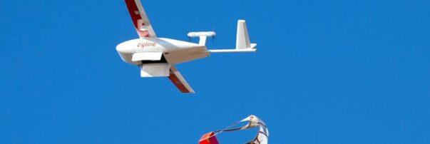 Zipline Drones to Deliver COVID-19 Vaccines