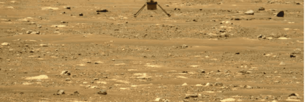 NASA's Mars Helicopter Completes Second Flight
