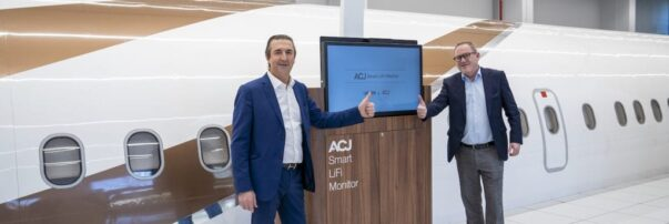 Airbus Corporate Jets Teams with Latécoère to Develop Li-Fi In-flight Entertainment Monitor