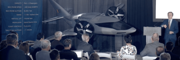 Xeriant Has Joined XTI to Develop the TriFan 600