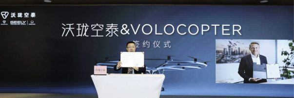 Volocopter Gets Order for 150 Aircraft, Expands into Chinese Market