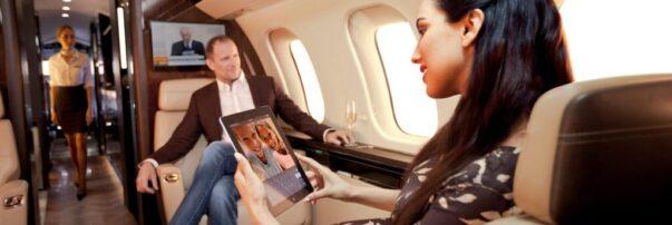 Bombardier's New Preferred Connectivity Service Provider is Collins Aerospace