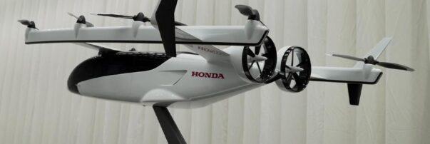 Honda is Developing a Hybrid-Electric eVTOL